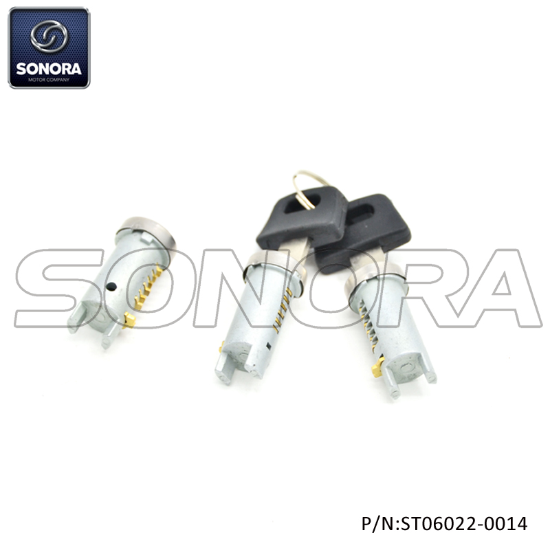 Lock Set Piaggio Zip 50 (P/N:ST06022-0014) Top Quality