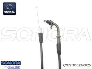 Longjia Scooter JL50QT-2L Throttle cable assy.(P/N:ST06023-0025) Top Quality