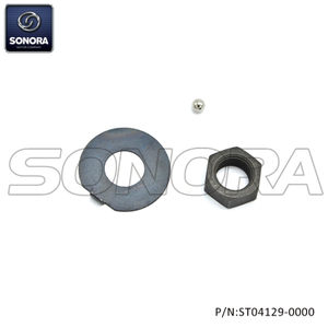 Keeway, KSR AM6 CLUTCH NUT SET (P/N:ST04129-0000) Top Quality