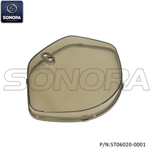 ZNEN SPARE PART ZN50T-30A Riva Speedometer cover with brown color (P/N:ST06020-0001) Top Quality