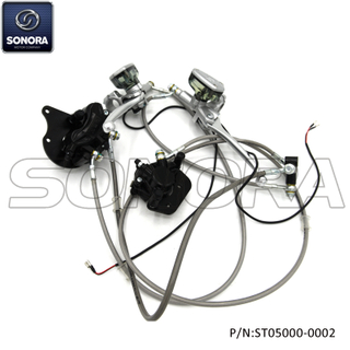 SUPER SOCO TC CBS Brake Assy 46000-QSM-CO11-M1(P/N:ST05000-0002) Top Quality