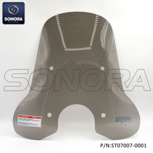 Vespa Primavera windshield high -Smoke (P/N:ST07007-0001) Original Quality