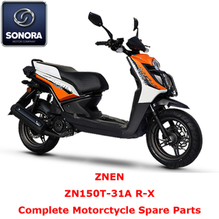 Znen ZN150T-31A R-X Complete Scooter Spare Part