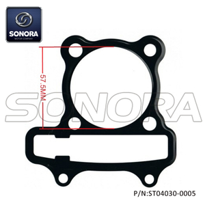 157QMJ GY6 150CC Cylinder head gasket 57.5MM (P/N: ST04030-0005) Top Quatity