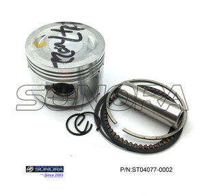 GY6 70CC piston 47MM Piston Kit(P/N:ST04077-0002) top quality