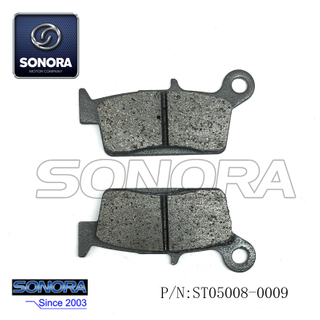 BENZHOU YYQT-21 Front Brake Pad (P/N: ST05008-0009) Top Quality