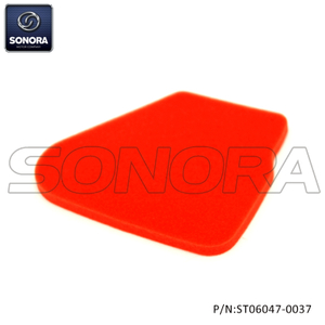 Air Filter Element Minarelli Horizontal Red(P/N:ST06046-0037)top Quality