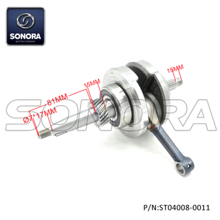 CG125 Crankshaft (P/N:ST04008-0011) Top Quality