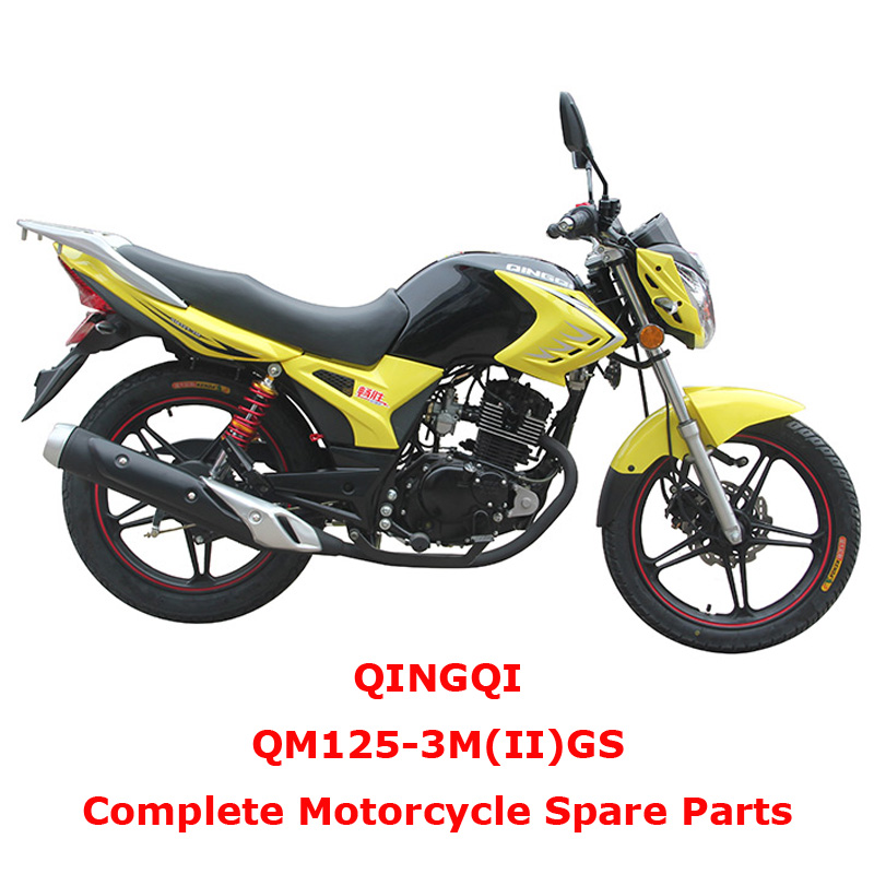 QINGQI QM125-3M II GS Complete Motorcycle Spare Parts