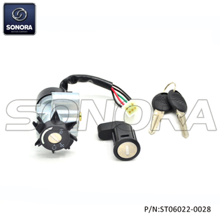 Lock Set Peugeot Speedfight 50 with cable(P/N:ST06022-0028) top quality