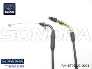 Wangye Scooter WY125T-21 Throttle cable assy.(P/N:ST06023-0021) top quality