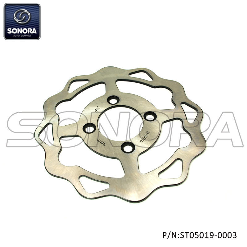 QINGQI QM125GY-2B Rear brake disc 220MM (P/N: ST05019-0003) Top Quality