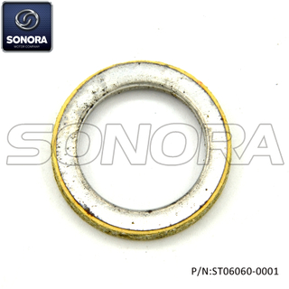 Exhaust gasket ring GY6 50 φ33×23×5 (P/N:ST06060-0000) Top Quality