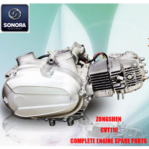 Zongshen CVT110 Complete Engine Spare Parts Original Parts