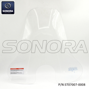 Riva LX150 high windshield Roud-clear (P/N:ST07007-0008) Original Quality